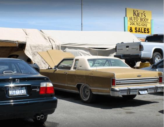 Auto body shop in Seattle