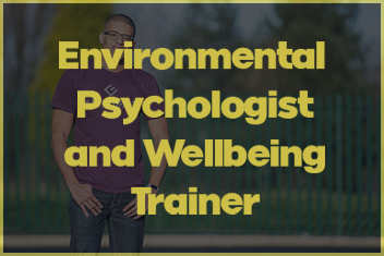 Environmental Pyschologist and Wellbeing Consultant Lee Chambers