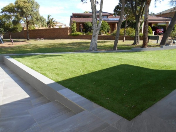 Artificial grass installation in Sydney