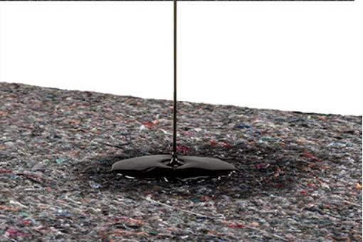 Oil-absorbent mats