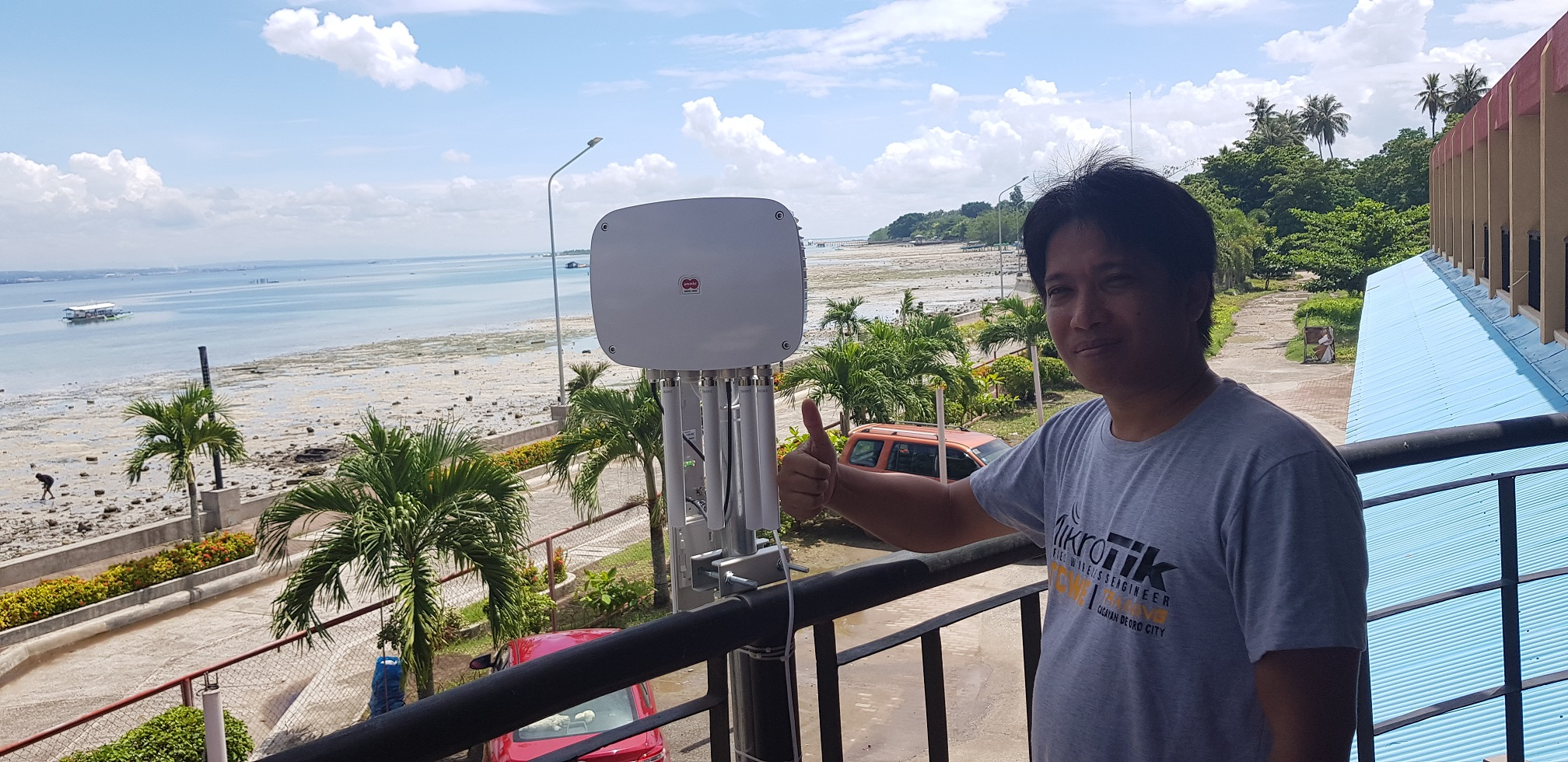 Ammbr Deployed by Tier One on Samal Island