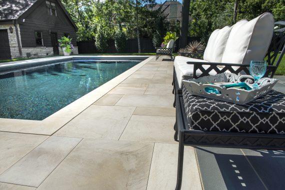 Custom Stone Pool Decks Can Accentuate a Yard