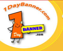 1DayBanner.com is Offering Discounted Cheap Vinyl Banners for a Limited Time