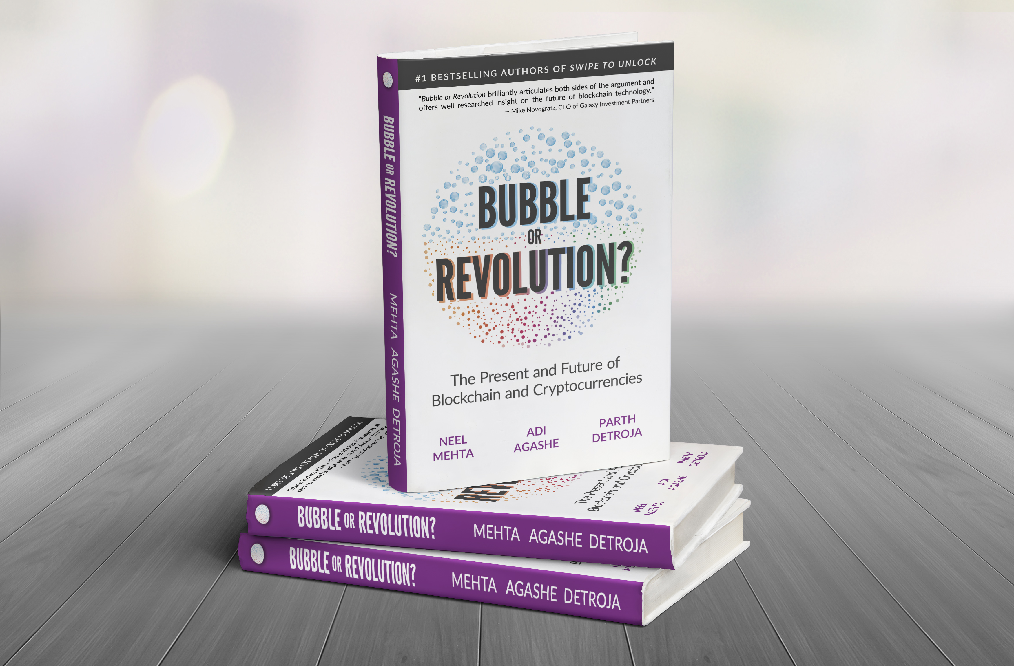 The First and Last Blockchain Book: Bubble or Revolution: The Present and Future of Blockchain and Cryptocurrencies
