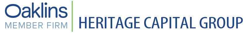 Heritage Capital Group Announces Formation of New Real Estate Broker Affiliate, Heritage Realty Capital
