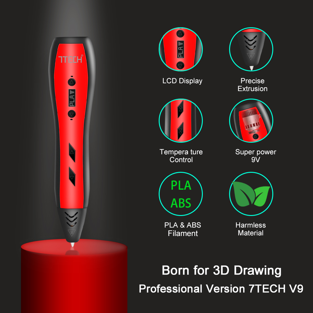 7TECH V9 Offers Advanced 3D Printing Pen to Inspire Creativity in Kids and Adults