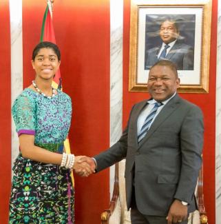16 YEAR OLD ZURIEL ODUWOLE HELPS END GIRL MARRIAGE IN MOZAMBIQUE