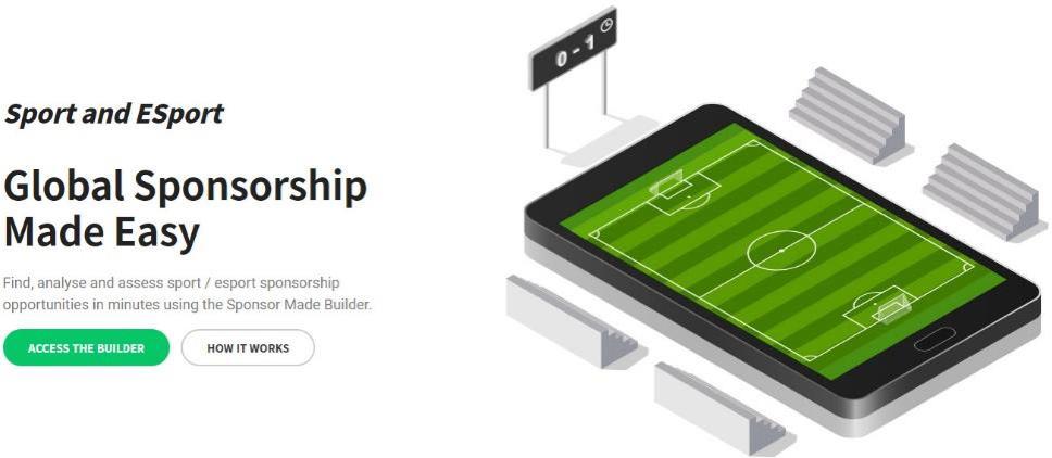 Sponsor Made Launches Sport / Esport Sponsorship Builder