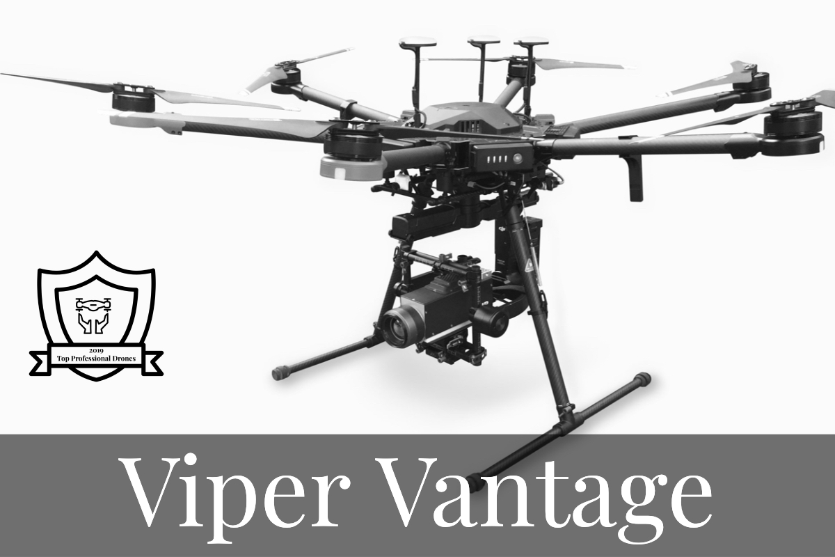 Superpowers for LDAR - Viper Vantage, the Ultimate Drone-Enabled Gas Leak Detection System