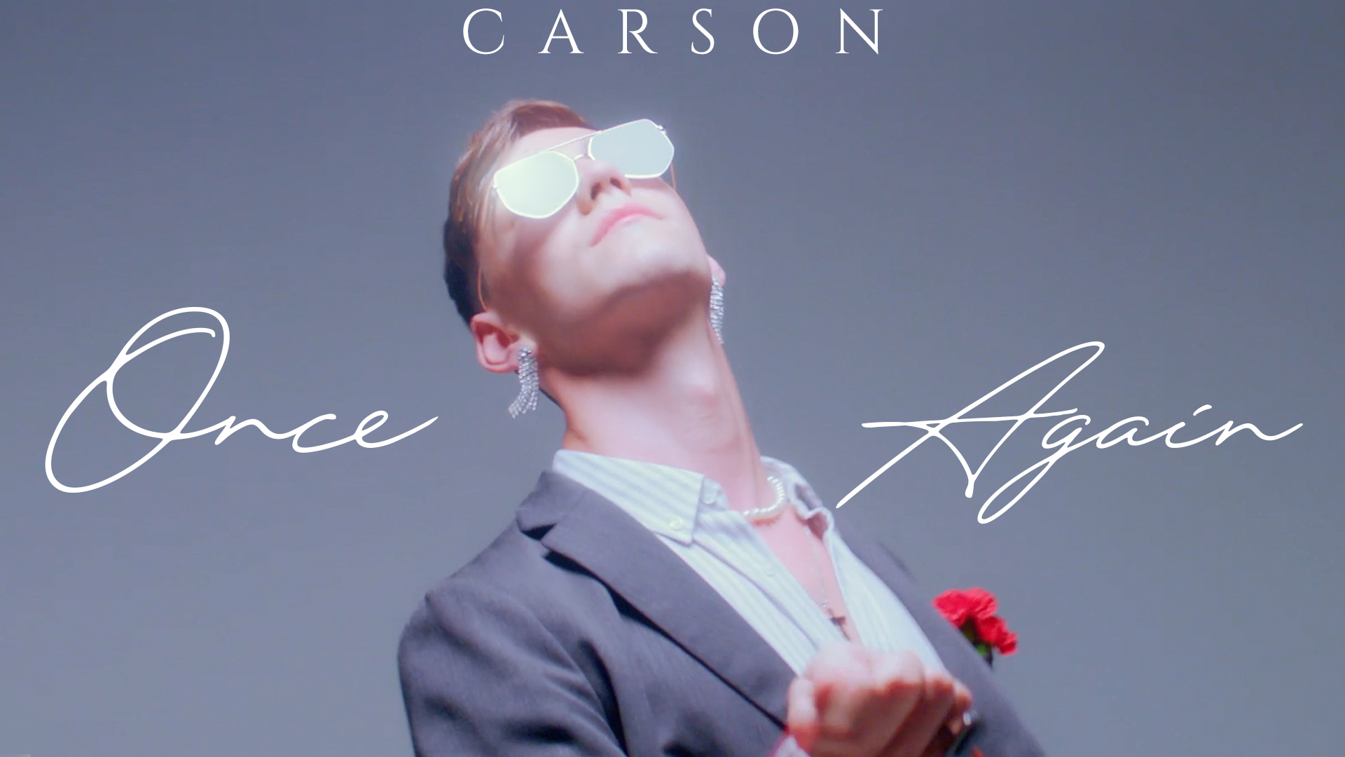 "Queer Synth-Pop CARSON Presents ""Once Again"""