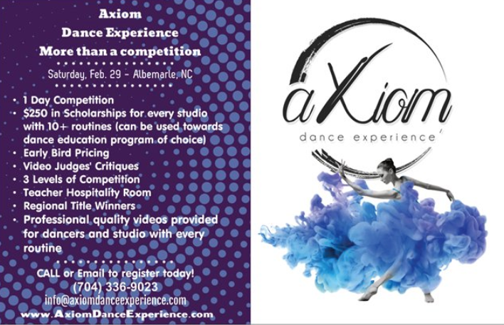Axiom Dance Experience to Conduct First Regional Dance Competition on 29th February 2020