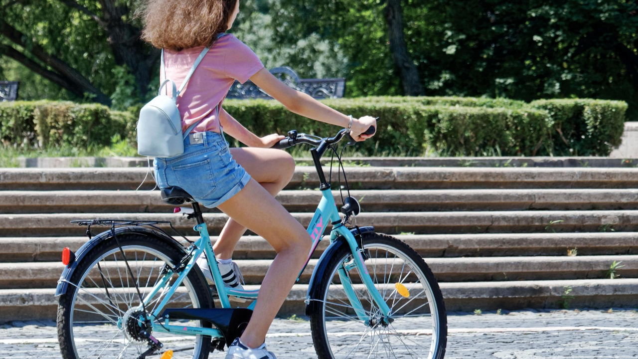 Bike Rentals Allowing Tourists to Enjoy the Ocean Air