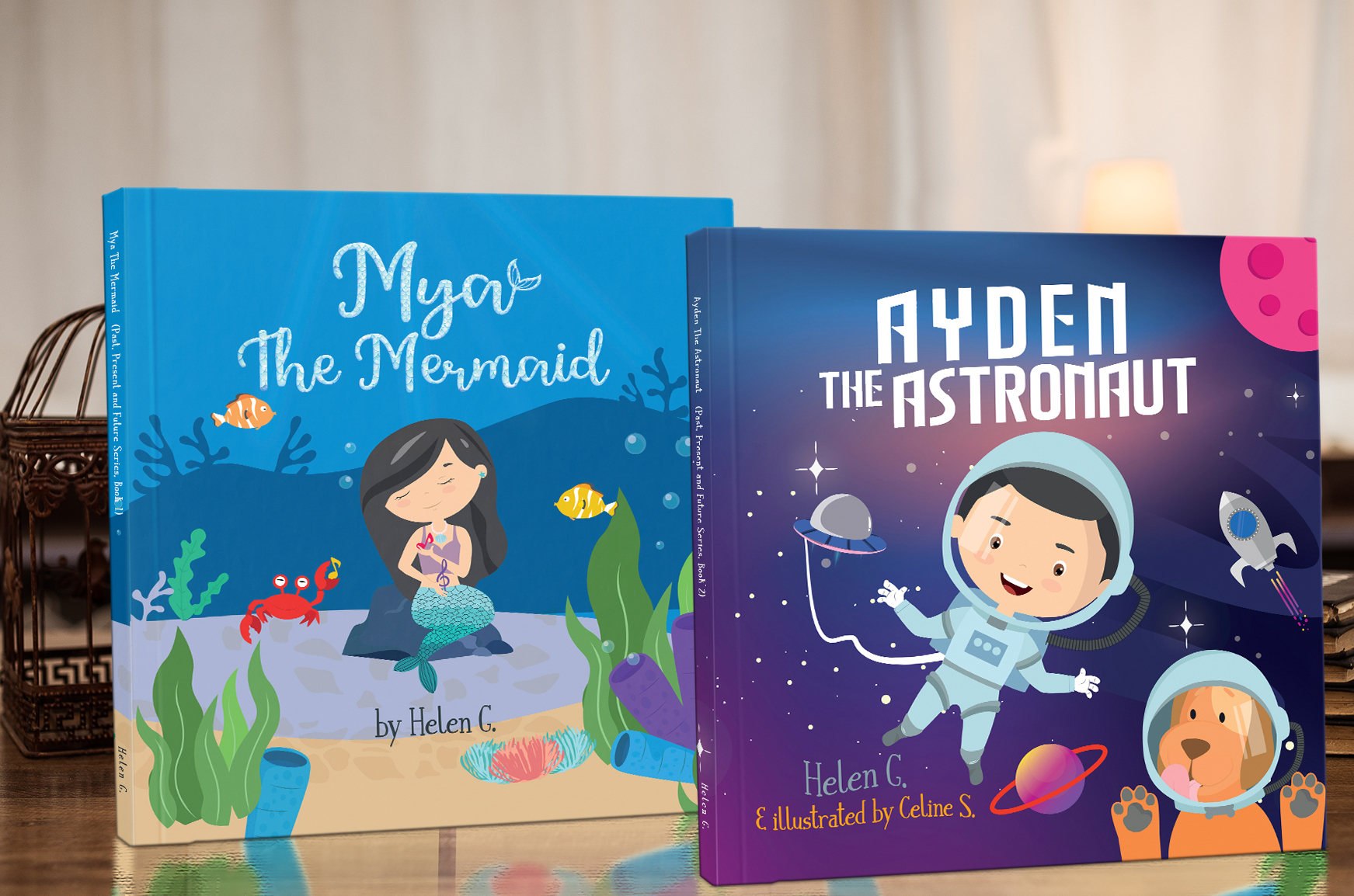 Author Helen G. Raises Awareness on Global Issues with Inspirational Picture Book Series for Children