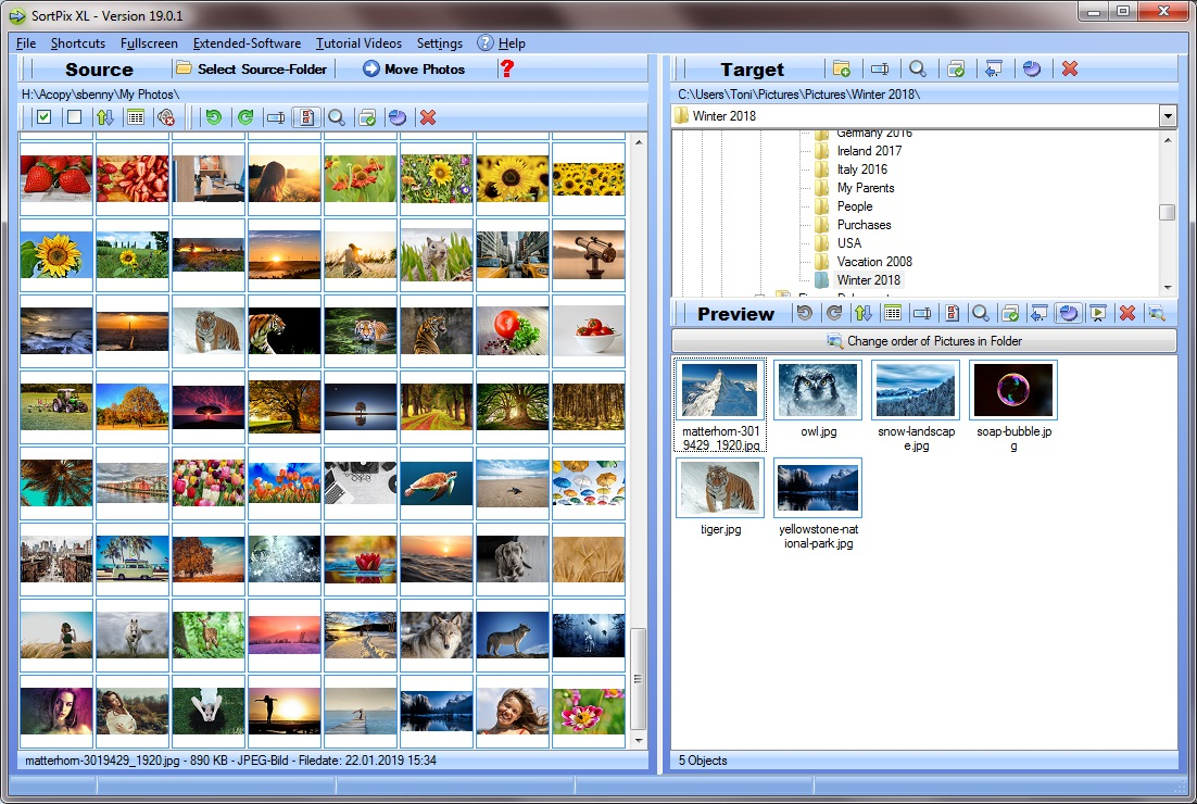 The hunt for easy-to-use duplicate photo cleaner comes to an end with the discovery of SortPix XL