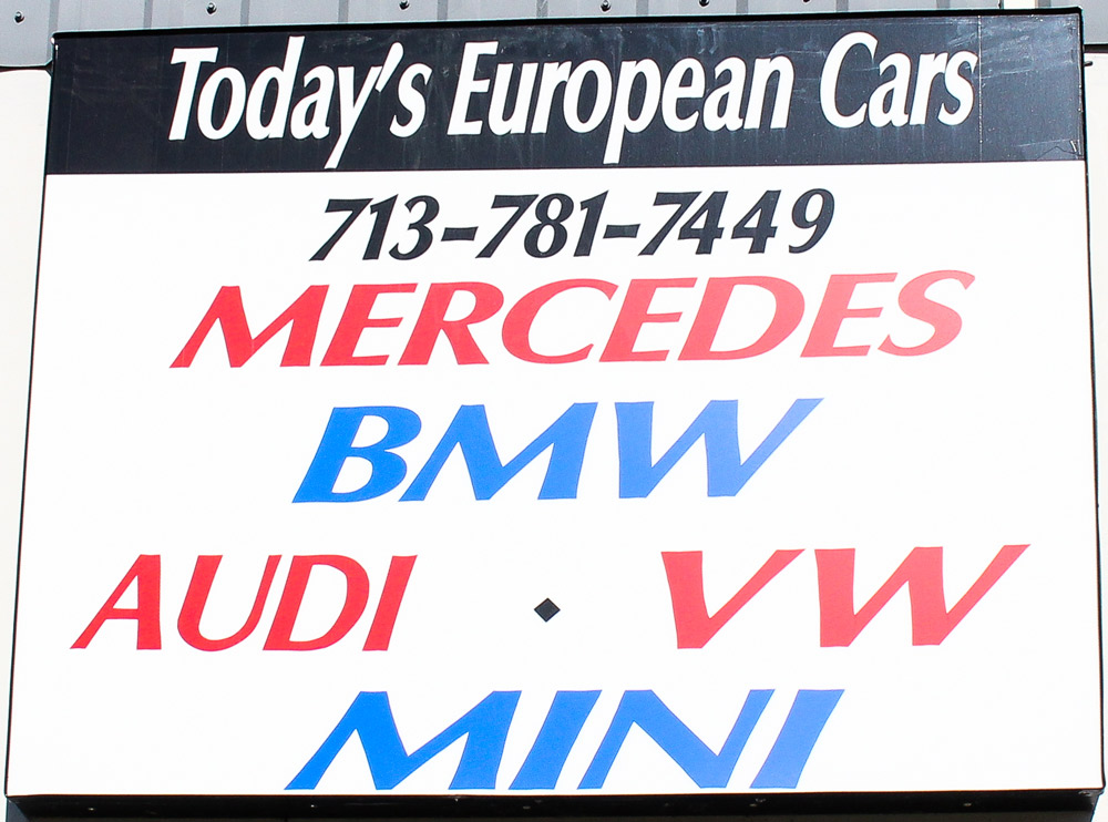 Today\'s European Cars, Expert Service Center For All BMW, Audi, Mini, VW & Mercedes Vehicles Announces Added Services