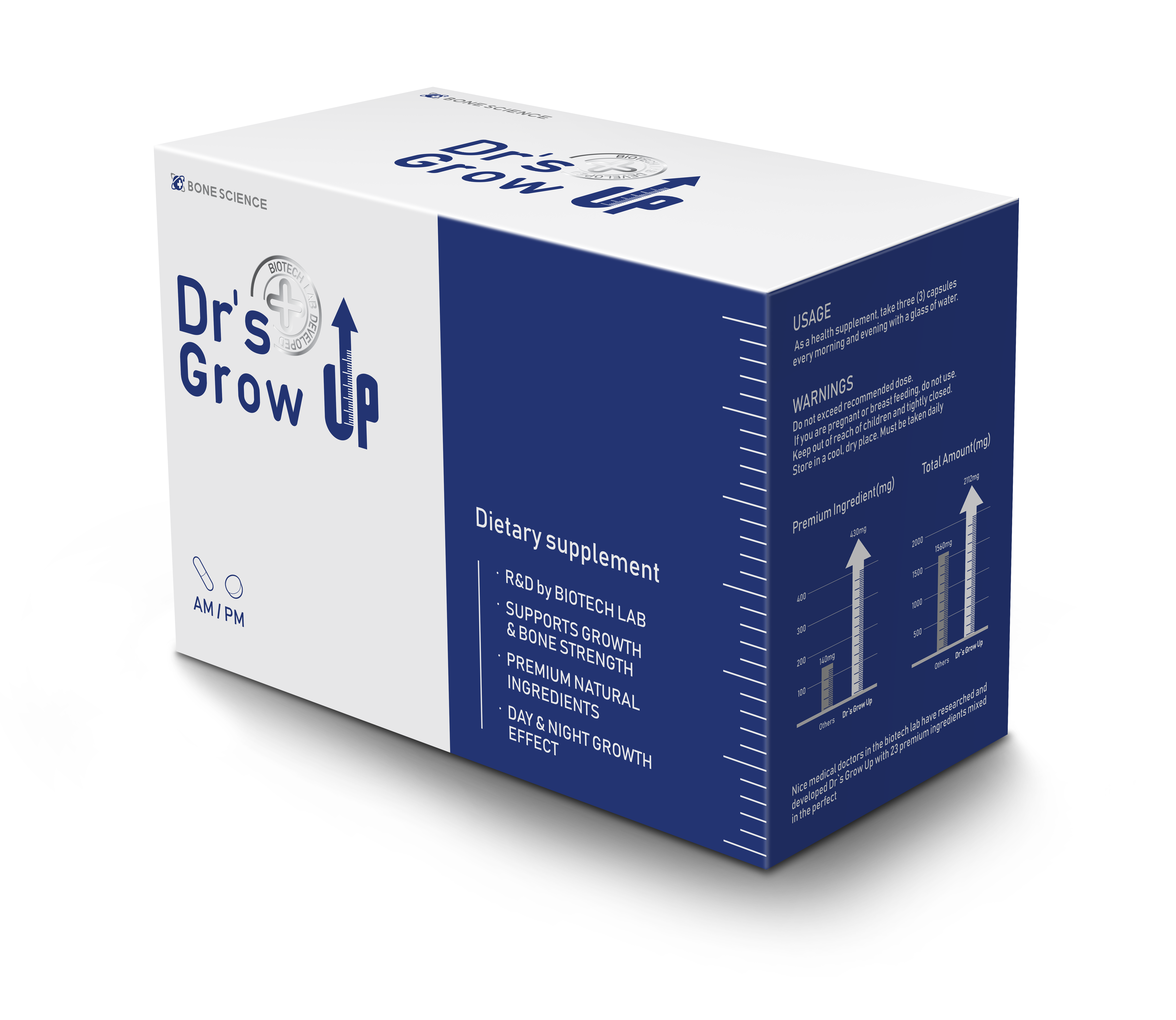 'Bone Science' will soon launch its newly developed product 'Dr's Grow UP'