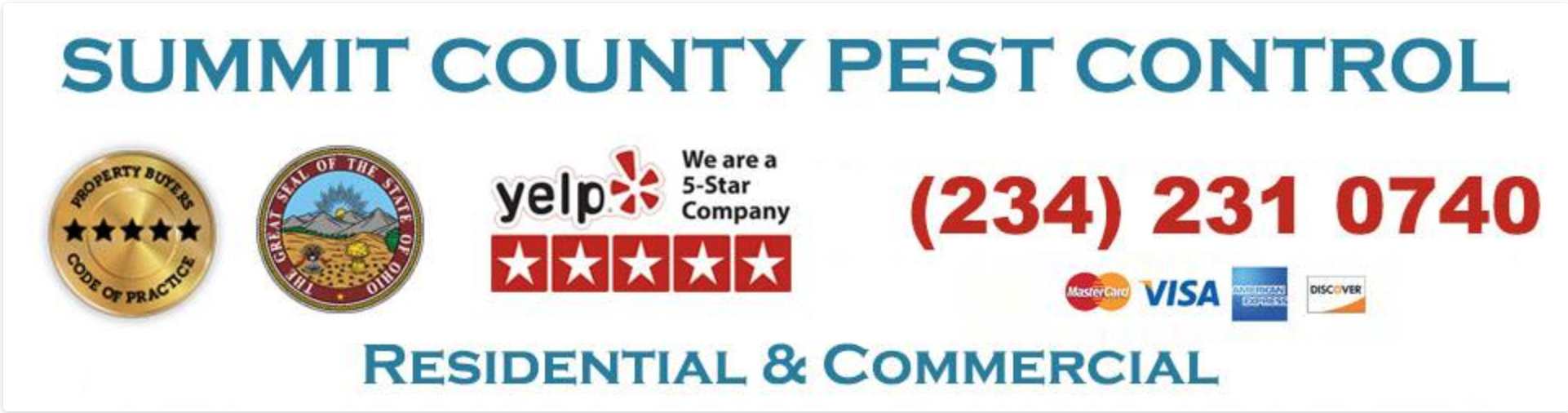 Summit County Pest Control Launches a Website Offering Pest Control Services Across Summit County, Ohio