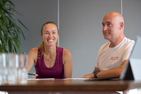 Former tennis star Martina Hingis is becoming the new ambassador for the Swiss Tennis Academy