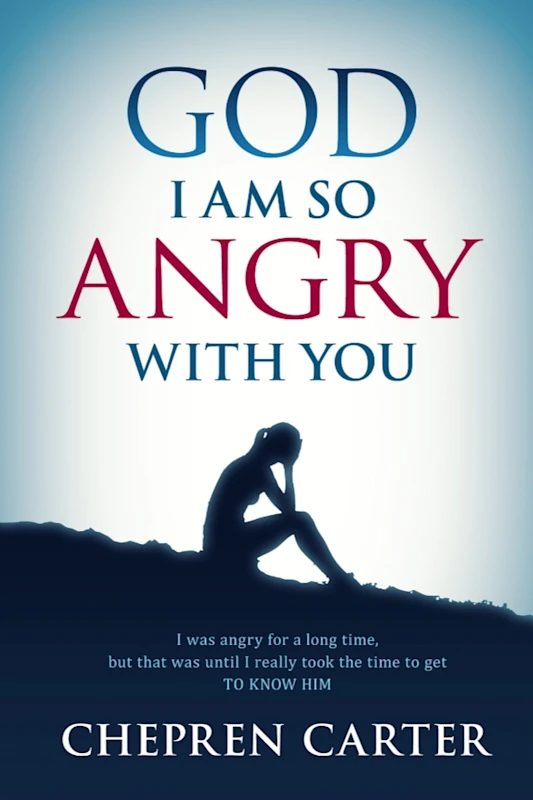 God I Am So Angry With You is Chepren Carter\'s debut publication