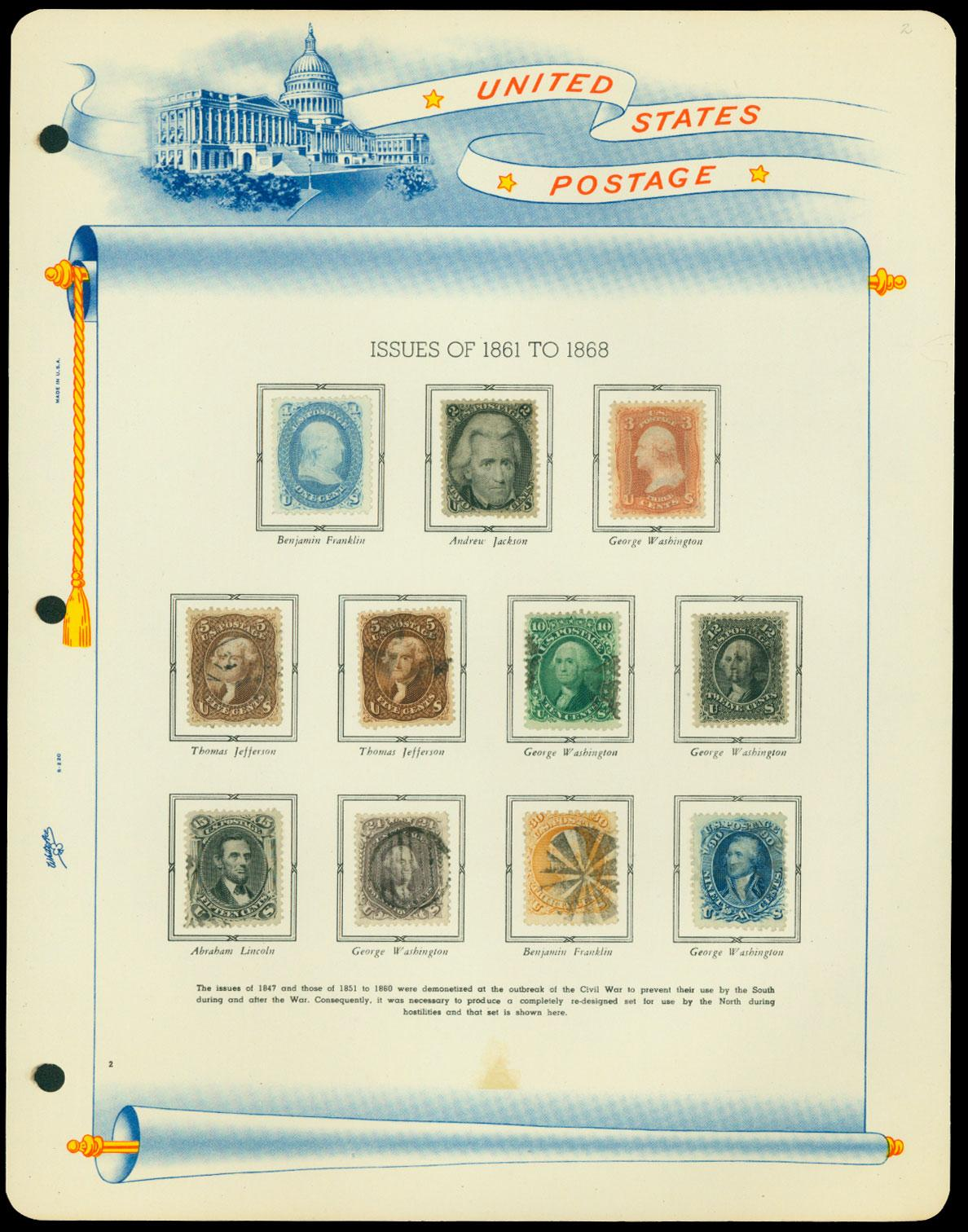 Rasdale Stamp Company in Westmont, IL to Hold November 23-24, 2019 Live Auction
