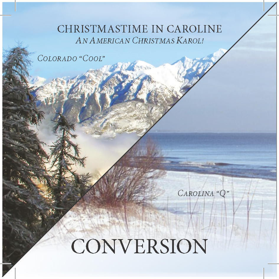 "Conversion Delivers Holiday Cheer With A Double Dose Of Their Christmas Psingle ""Christmastime In Caroline"""