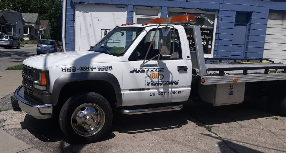 Justice Auto Service & Towing Adds A New Truck To Improve Its Towing Services In Covington KY