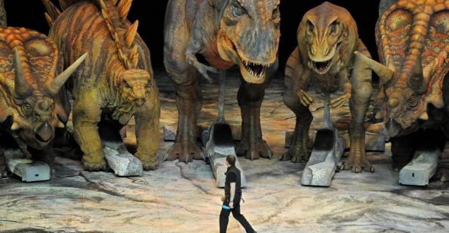 Meet these latest Customized Animatronic Walking Dinosaurs