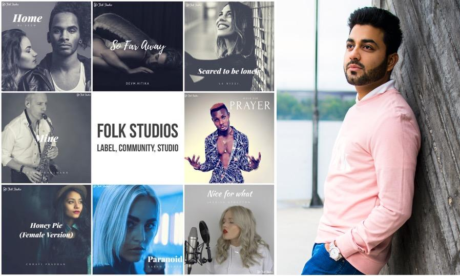 Deepak Kamboj - The founder of folk studios Sweden talks about supporting independent artists in music production