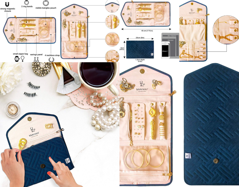 MYAMORE ANNOUNCES THE RELEASE OF TRAVEL JEWELRY HOLDER