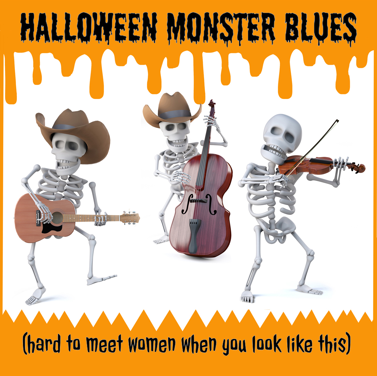 "Ted Parks and the Busted Bones Deliver A True Treat With ""Halloween Monster Blues"""