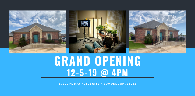 The Balanced Mind Announces New Location on May Avenue in Oklahoma City With A City-Wide Open House Holiday Ribbon Cutting on December 5th at Their New Building for Neurofeedback
