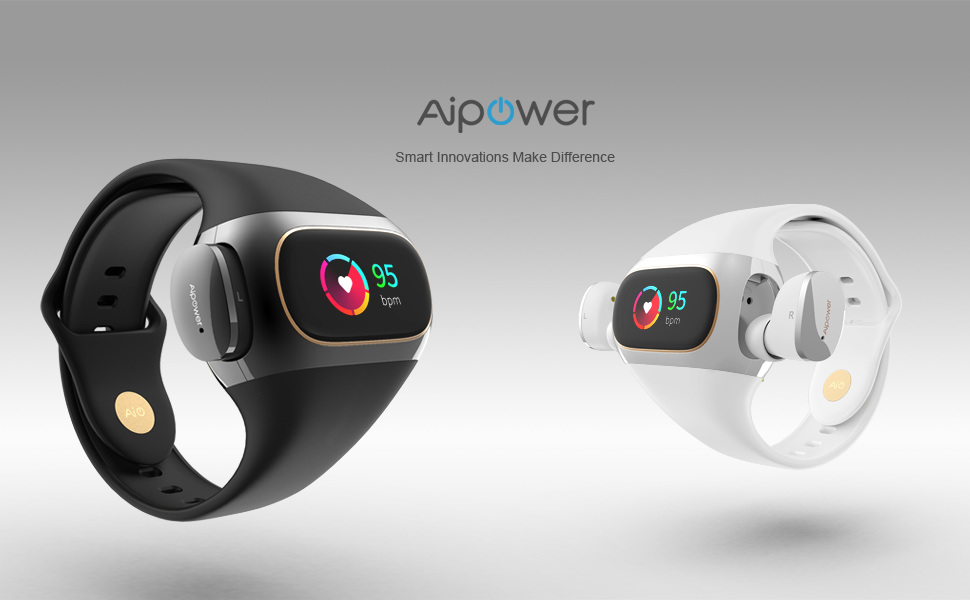 Aipower Officially Unveils the Wearbuds™ the World's First Hi-Res True Wireless Earbuds Housed in an Innovative Wrist Band