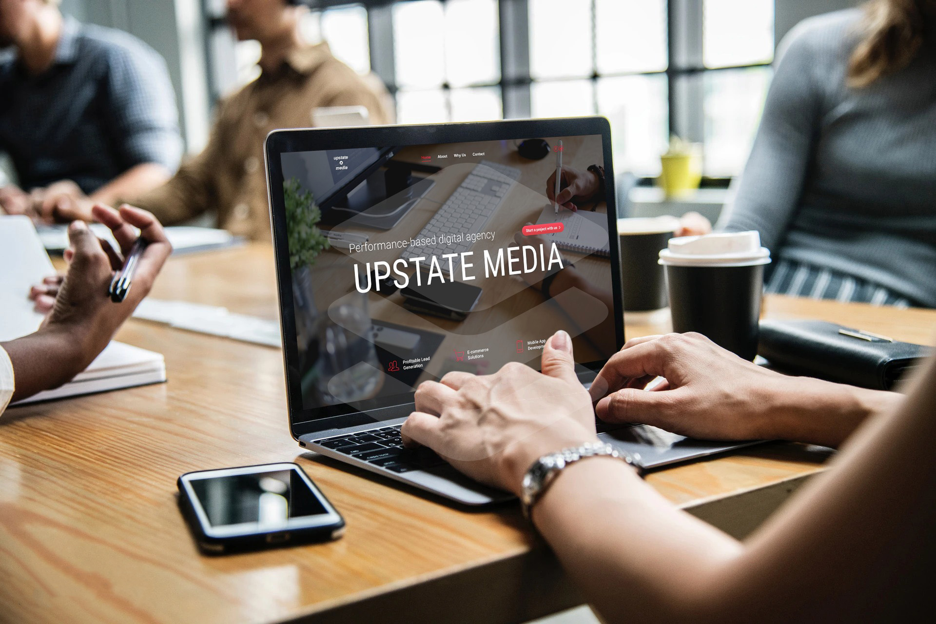 Upstate Media Inc. Is Turning More Visitors Into Buyers By Improving The Conversion Rate