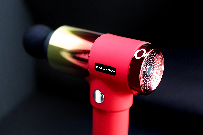 The world spotlighted on vibration massage device, 'MUSCLETECH - Massage Gun'