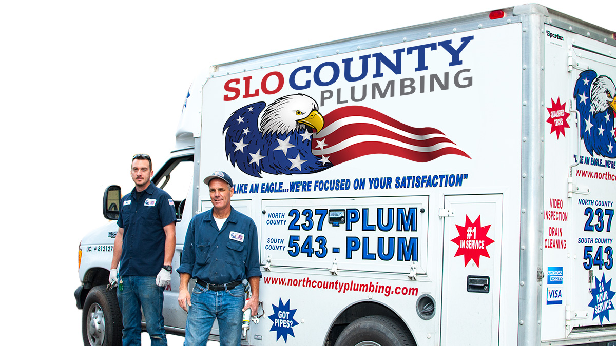 Green Plumbing With SLO County Plumbing & Drain Cleaning Inc.