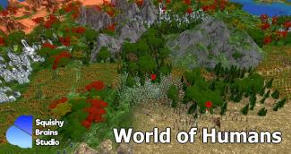 World of Humans, a new concept of video game between a Civilization Builder and a Realtime Strategy video game, now on Kickstarter