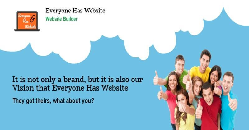 LAUNCHING OF PERSONAL WEBSITE BUILDER WHICH EVERYONE CAN AFFORD