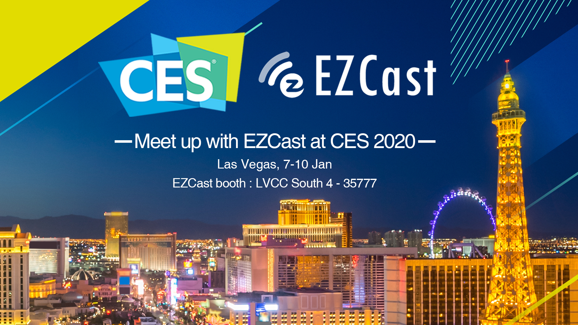 EZCast Demos the EZCast MagicLink and EZCast Ultra at CES 2020
