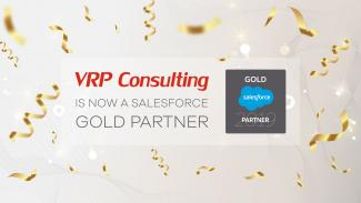 VRP Consulting Achieves Salesforce Gold Consulting Partner Status