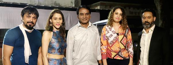 Director Manish Vatssalya & British producer Zaina Ibourek\'s Bollywood Movie \