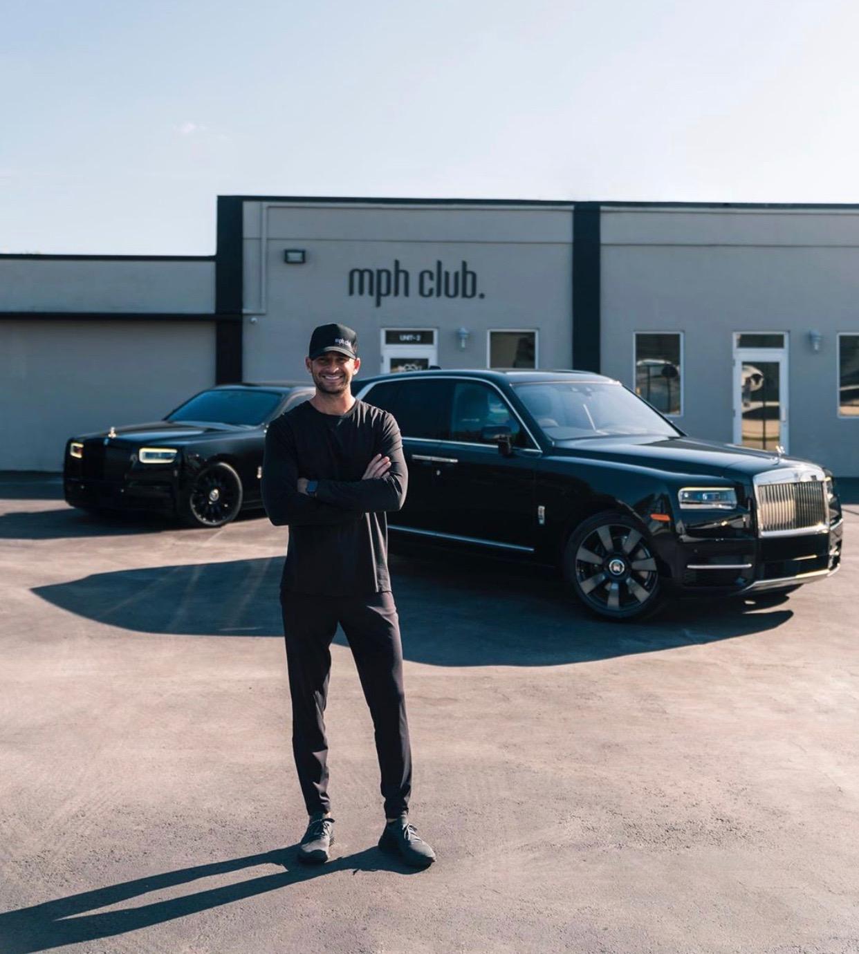 Custom luxury vehicle fanatic Liram Sustiel donates his Lamborghini income to charity