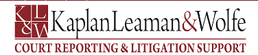 Kaplan Leaman & Wolfe Court Reporters of New York Opens Office In New York City