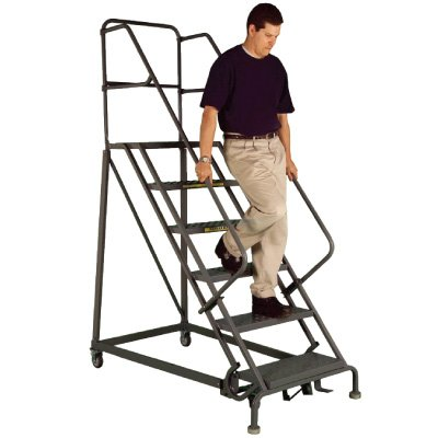 Rolling Ladders Provide Added Safety in Industrial Workplaces and Warehouses