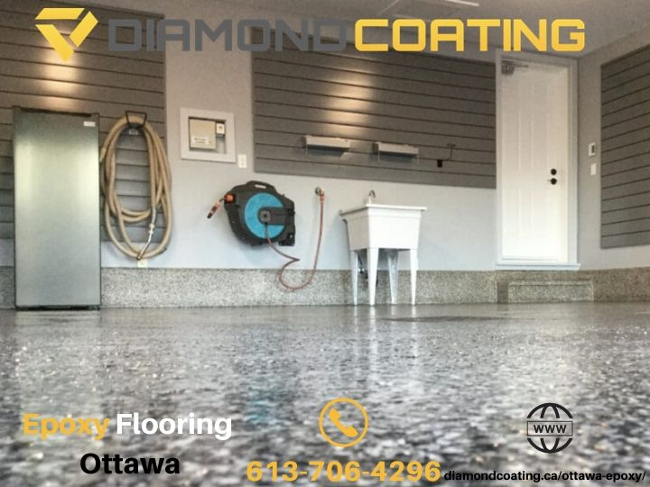 Diamond Coating Epoxy Flooring Ottawa is a Leading Contractor, Now Offering Competitive Pricing on Ottawa Epoxy Flooring Installations
