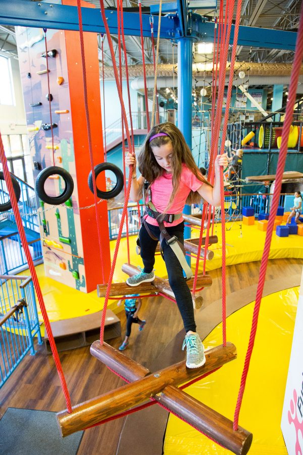 Active Entertainment Centers Introduce Kids to an Active Lifestyle