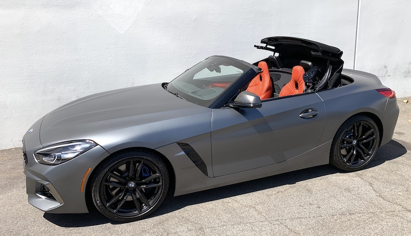 SmartTOP additional convertible top control now available for the new BMW Z4 Roadster
