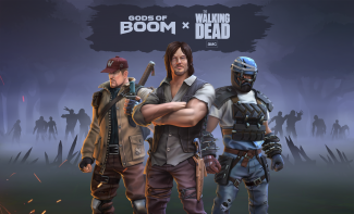 AMC's The Walking Dead Invades Gods of Boom