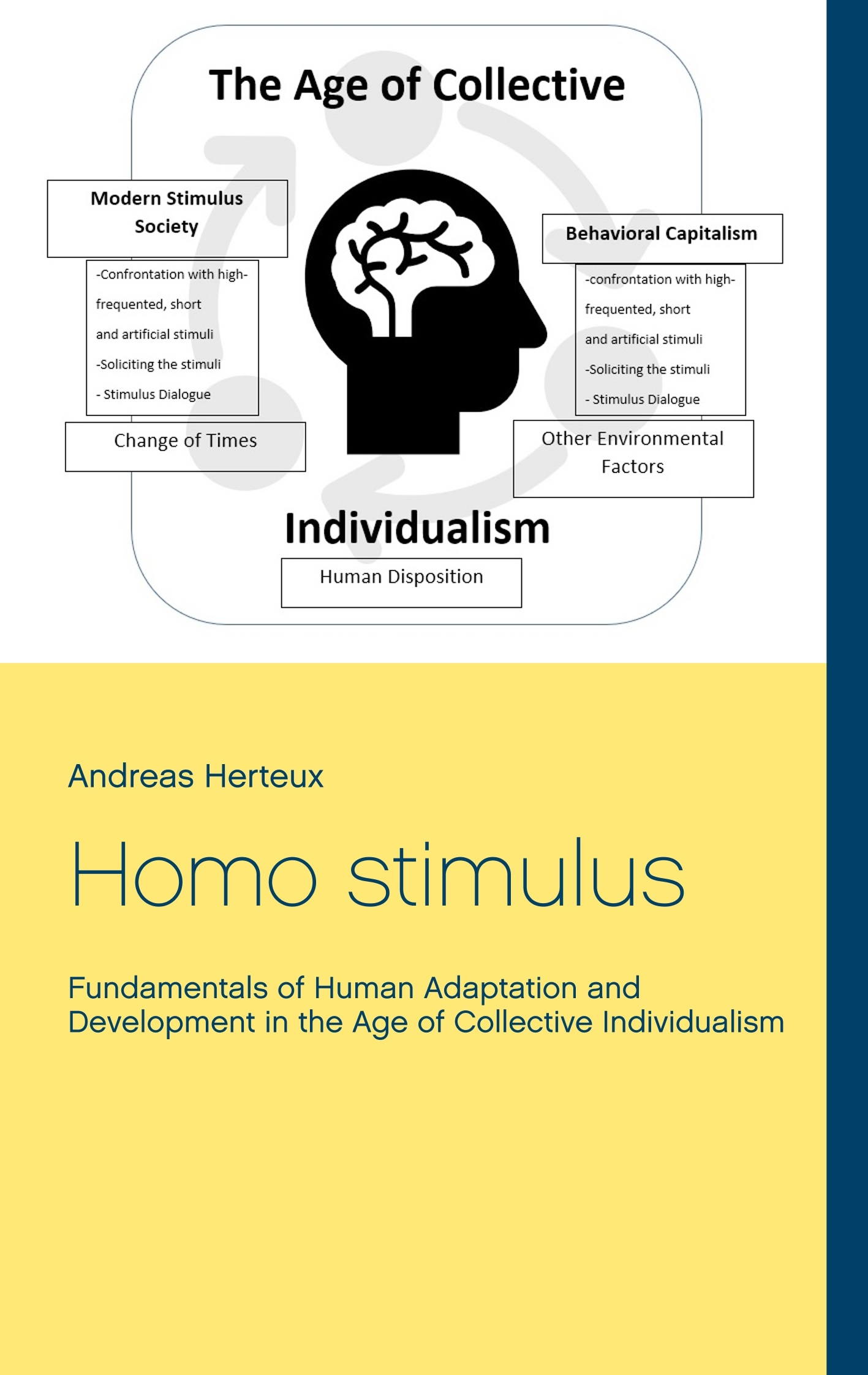 Homo stimulus: New monograph explains the Human Being of the 21st Century