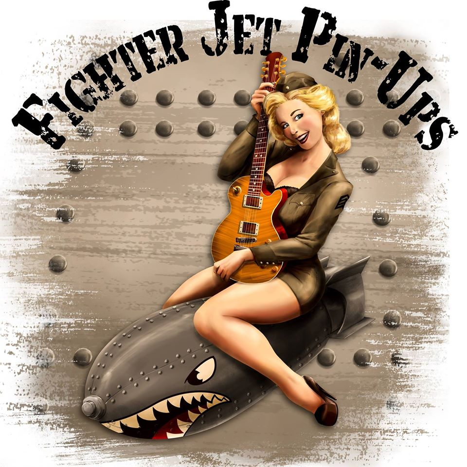 Fighter Jet Pin-ups Rock It Out With Debut