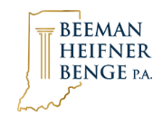 Beeman Heifner Benge Offers Legal Representation to Indianapolis Residents